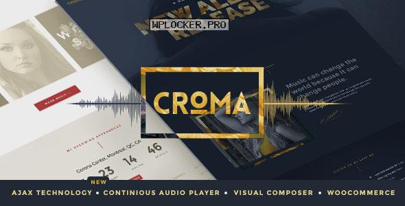 Croma v3.5.6 – Responsive Music WordPress Theme
