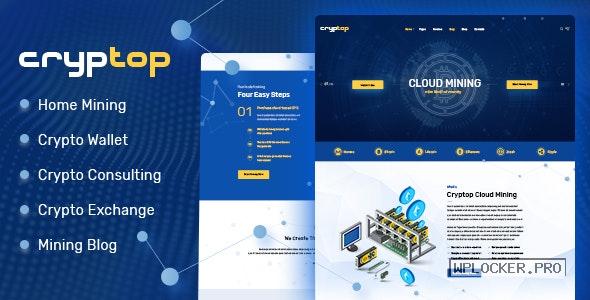 CrypTop v1.0.5 – ICO Landing and CryptoCurrency WordPress Theme