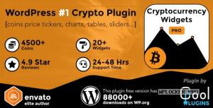 Cryptocurrency Widgets Pro v2.6 – WordPress Crypto Plugin