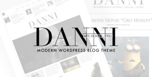 Danni v1.0.2 – Minimalist WordPress Blog Theme