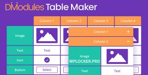 Divi Table Maker Modules v2.0.1