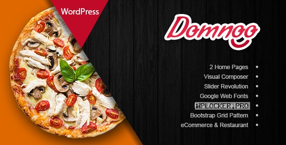 Domnoo v1.26 – Pizza & Restaurant WordPress Theme