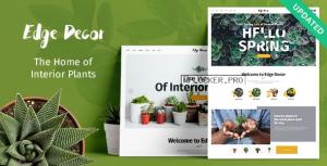 Edge Decor v1.2.1 – A Modern Gardening & Landscaping Theme