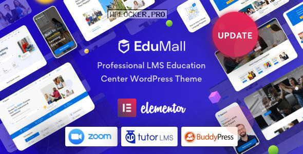 EduMall v2.0.0 – Professional LMS Education Center WordPress Theme