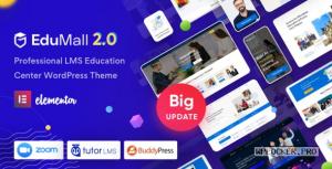 EduMall v2.1.0 – Professional LMS Education Center WordPress Theme