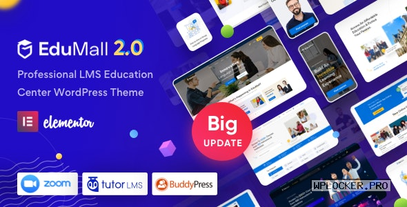EduMall v2.1.0 – Professional LMS Education Center WordPress Theme