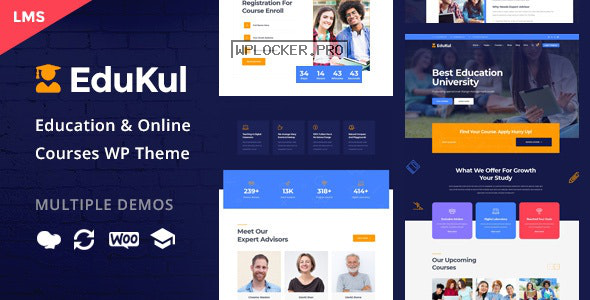 Edukul v1.11 – Online Courses WordPress Theme