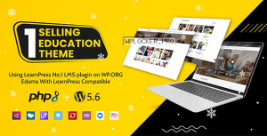 Eduma v4.3.4 – Education WordPress Theme