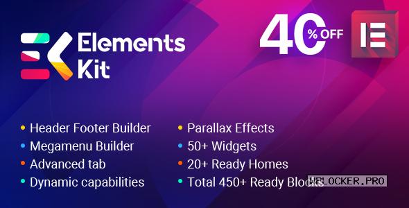 ElementsKit v2.1.1 – The Ultimate Addons for Elementor Page Builder