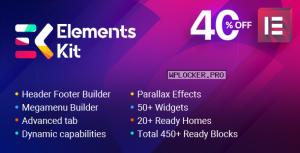 ElementsKit v2.1.3 – The Ultimate Addons for Elementor Page Builder