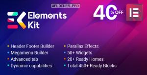 ElementsKit v2.1.4 – The Ultimate Addons for Elementor Page Builder