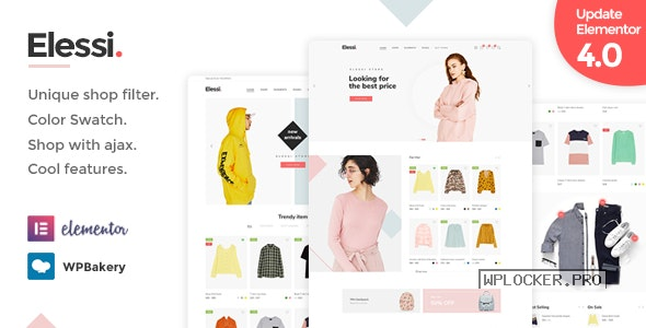 Elessi v4.1.5 – WooCommerce AJAX WordPress Theme – RTL support