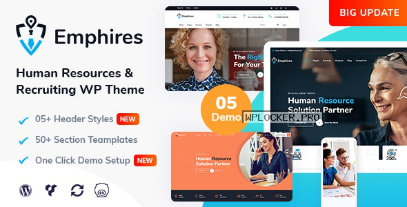 Emphires v2.1 – Human Resources & Recruiting Theme