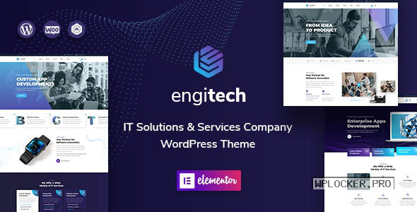 Engitech v1.2 – IT Solutions & Services WordPress Theme