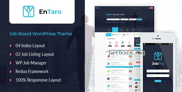 Entaro v3.18 – Job Portal WordPress Theme