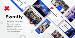 Evently v1.9 – Event & Conference Theme