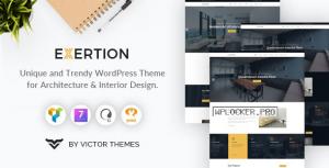 Exertion v1.3 – Architecture & Interior Design WordPress Theme