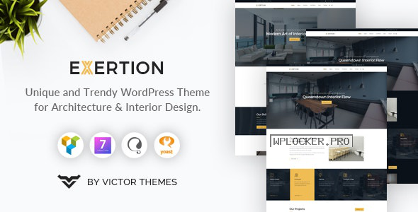 Exertion v1.3 – Architecture & Interior Design WordPress Theme
