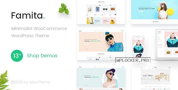 Famita v1.29 – Minimalist WooCommerce WordPress Theme