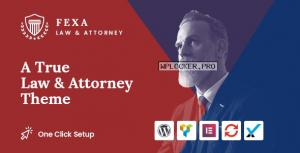 Fexa v1.2 – Lawyer & Attorney WordPress Theme