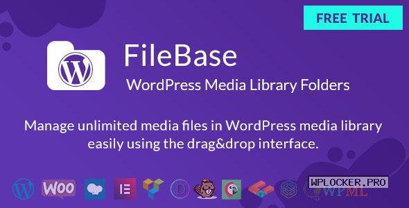 FileBase v1.4.2 – Ultimate Media Library Folders for WordPress