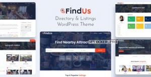 Findus v1.1.24 – Directory Listing WordPress Theme