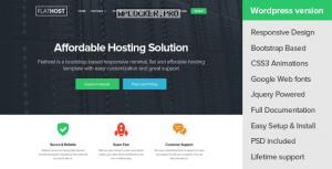 FlatHost v2.4 – WordPress Hosting Theme + WHMCS