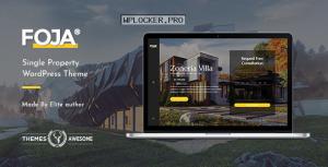 Foja v1.5 – Single Property WordPress Theme
