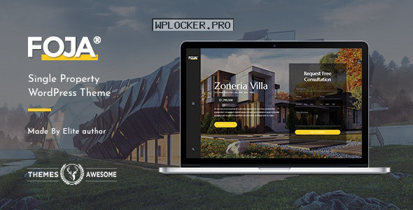 Foja v1.5 – Single Property WordPress Theme