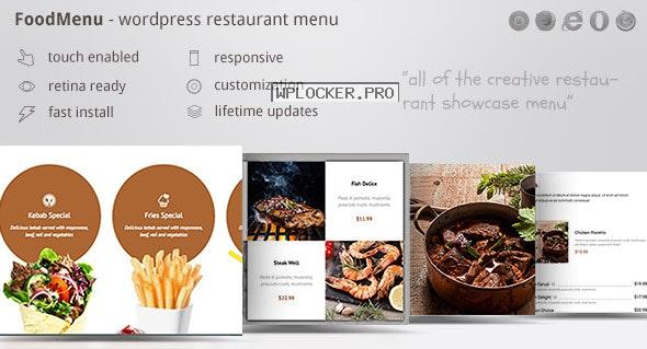 FoodMenu v1.16 – WP Creative Restaurant Menu
