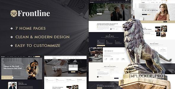 Frontline v1.0.1 – Attorney & Lawyer WordPress Theme