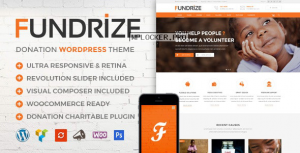 Fundrize v1.15 – Responsive Donation & Charity Theme