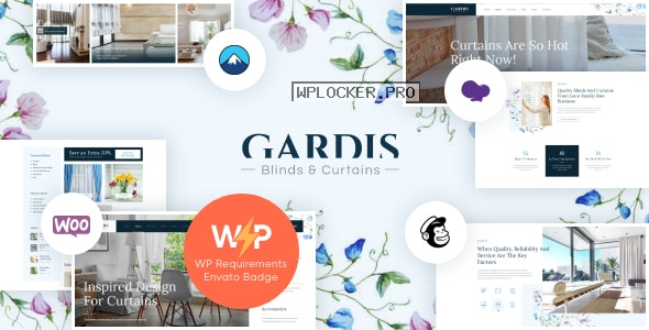 Gardis v1.2.3 – Blinds and Curtains Studio & Shop WordPress Theme