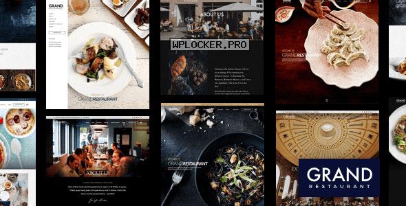 Grand Restaurant v5.9.4 – Restaurant Cafe Theme