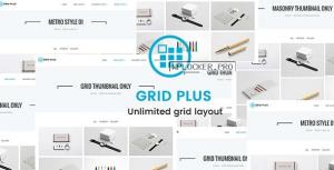 Grid Plus v3.2 – Unlimited Grid Layout