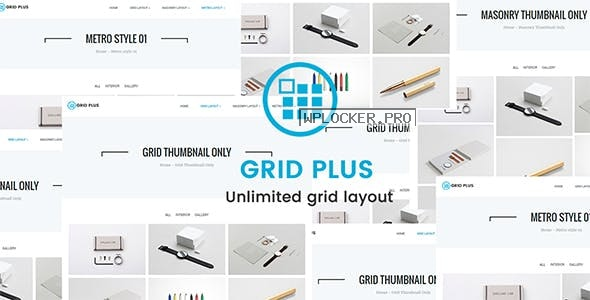 Grid Plus v3.2 – Unlimited Grid Layout