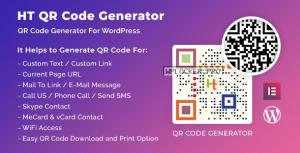 HT QR Code Generator for WordPress v2.0