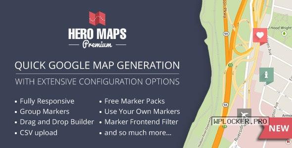 Hero Maps Premium v2.3.0 – Responsive Google Maps Plugin