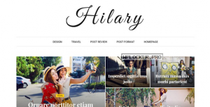 Hilary v1.2 – Flexible WordPress Magazine News Blog Theme