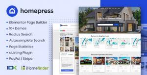 HomePress v1.2.9 – Real Estate WordPress Theme