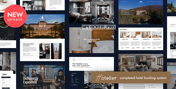 Hoteller v5.1.1 – Hotel Booking WordPress