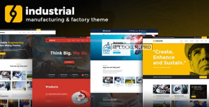 Industrial v1.4.0 – Corporate, Industry & Factory