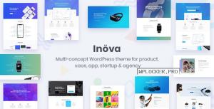Inova v3.6.0 – Multipurpose WordPress Theme For Startups & Agencies