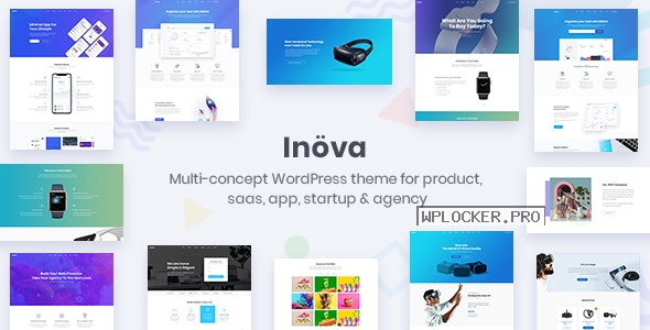 Inova v3.6.0 – Multipurpose WordPress Theme For Startups & Agencies