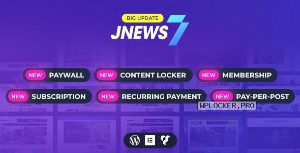 JNews v7.1.9 – WordPress Newspaper Magazine Blog AMP