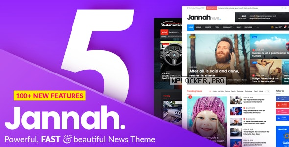 Jannah News v5.3.1 – Newspaper Magazine News AMP BuddyPress