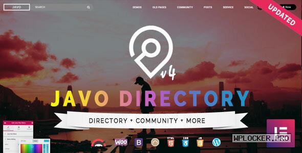Javo Directory v4.2.1 – WordPress Theme