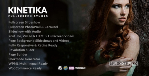 Kinetika v6.5 – Fullscreen Photography Theme
