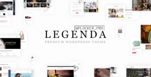 Legenda v4.3.2 – Responsive Multi-Purpose WordPress Theme