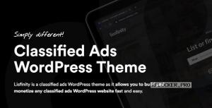 Lisfinity v1.1.19 – Classified Ads WordPress Theme